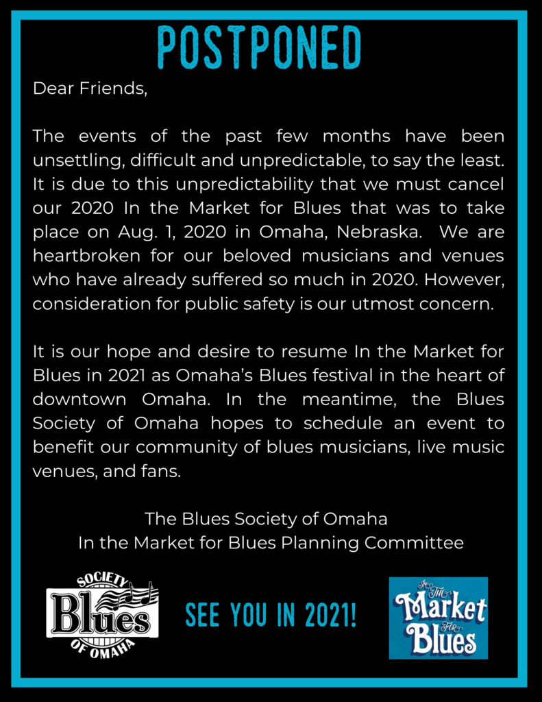2020 In The Market for Blues